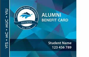 VIU Alumni Benefit Card
