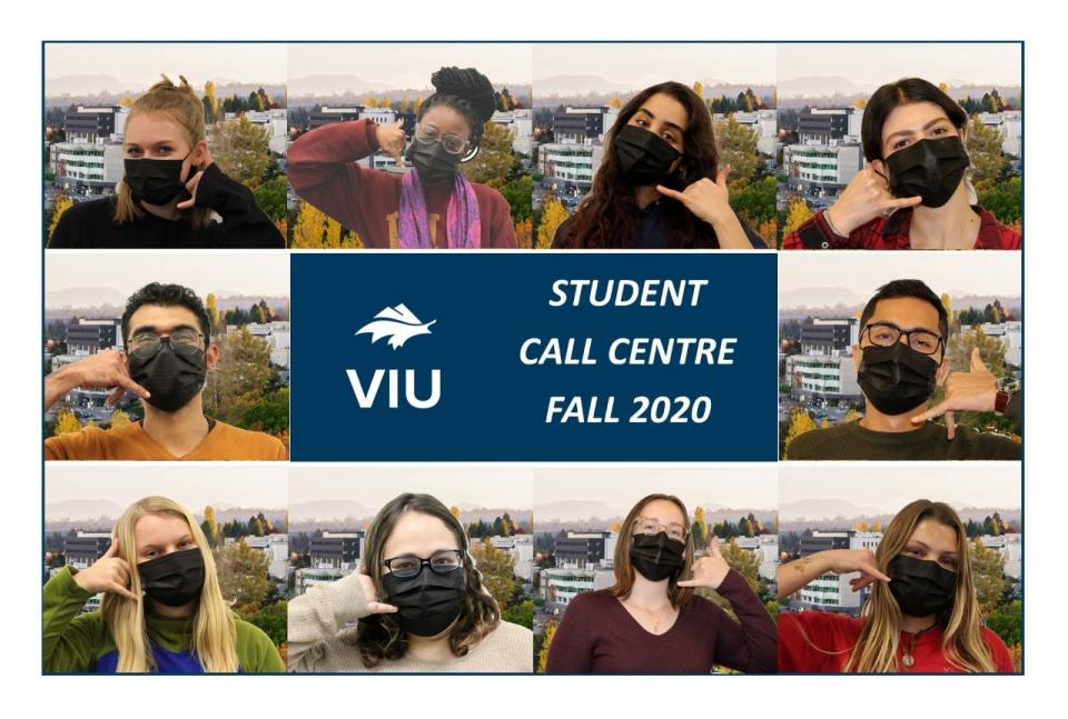 Student Call Centre Fall 2020
